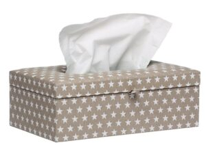 Briljant Baby Tissue box Sam - Grijs