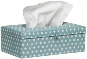 Briljant Baby Tissue box Sam - Jade
