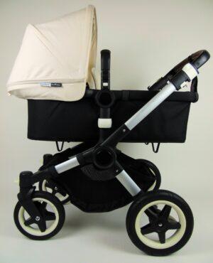 Bugaboo® Buffalo Kinderwagen - Zwart - Off White
