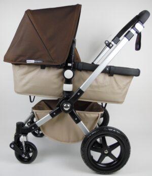 Bugaboo® Cameleon 3 Kinderwagen - Zand - Donkerbruin