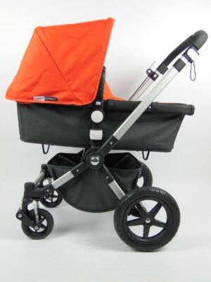 Bugaboo® Cameleon 3 Kinderwagen - Donkergrijs - Oranje