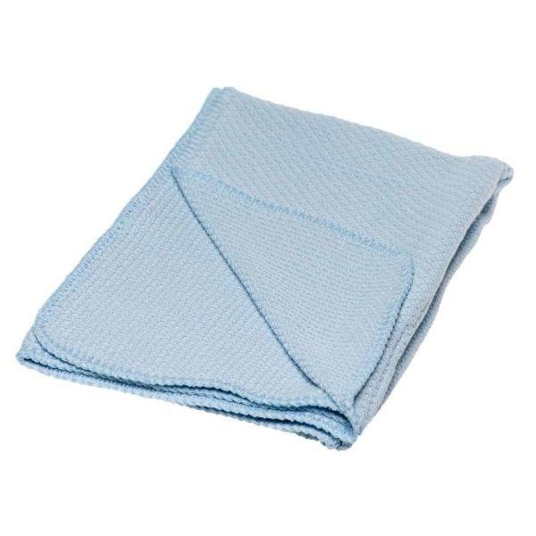 Briljant Ledikantdeken Pique 100x150 cm - Blauw