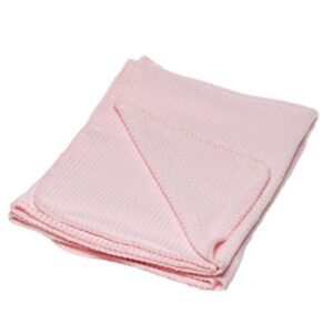 Briljant Baby Ledikantdeken Pique 100x150 cm - Roze