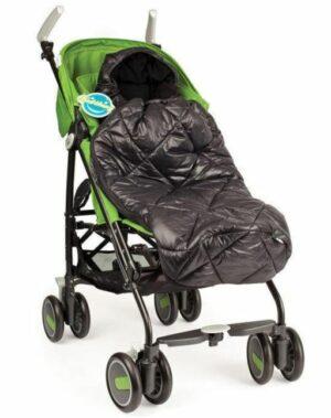 Kidthing - Voetenzak Buggy/Wandelwagen - Zwart