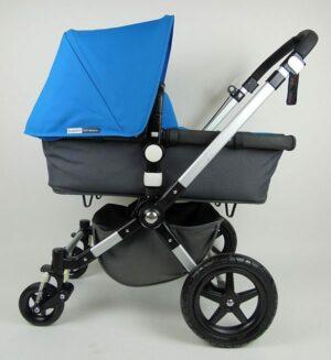Bugaboo® Cameleon 3 Kinderwagen - Donkergrijs - Blue
