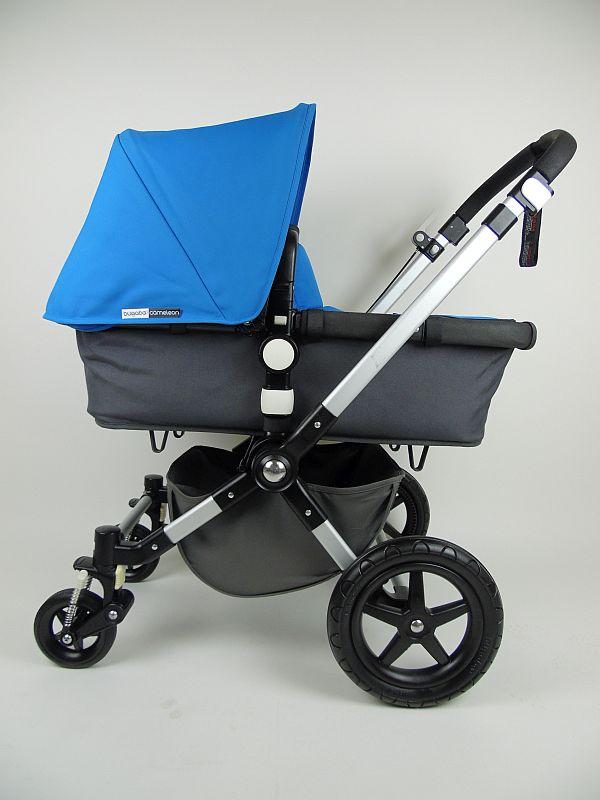 Bugaboo® Cameleon3 Kinderwagen - Donkergrijs - Blue