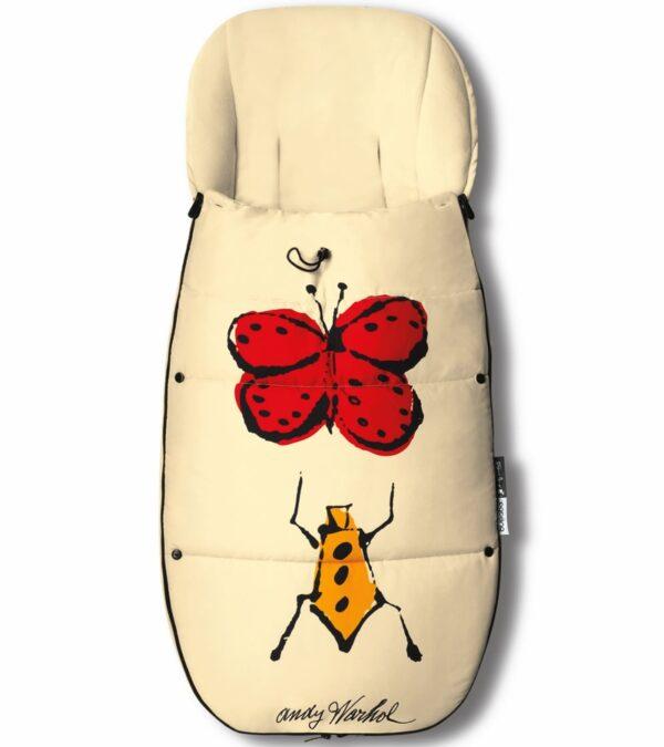 Bugaboo® Voetenzak Andy Warhol - Happy Bugs
