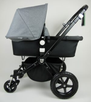 Bugaboo® Cameleon 3 Kinderwagen - Zwart - Zwart - Gemêleerd Grijs