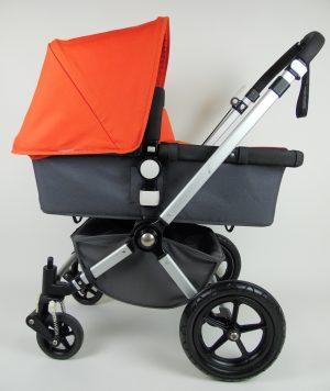 Bugaboo® Cameleon2 Kinderwagen - Donkergrijs - Oranje
