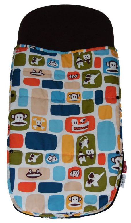 Bugaboo® Voetenzak - Paul Frank - Color Blocks