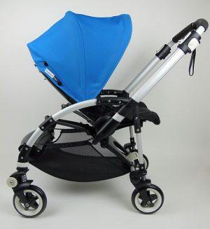 Bugaboo® Bee2 Kinderwagen - Zwart - Blue