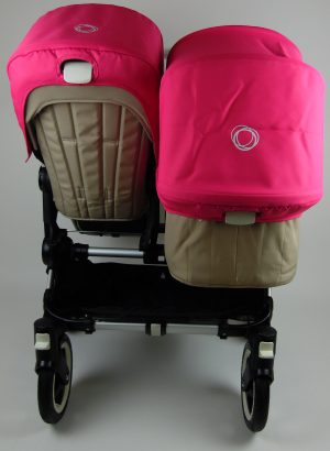 Bugaboo® Donkey Duo Kinderwagen - Zand - Pink