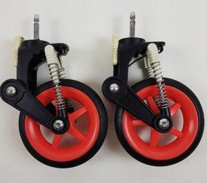 Bugaboo® Cameleon3 Zwenkwiel 6 inch - Neon - 2 stuks
