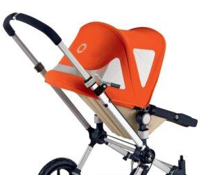 Bugaboo® Cameleon Breezy Zonnekap - Oranje Canvas