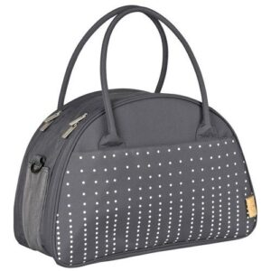 Lässig Verzorgingstas Casual Shoulder Bag Dotted Lines - Ebony
