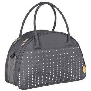 Lässig Verzorgingstas Casual Shoulder Bag Dotted Lines - Ebony