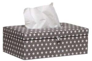 Briljant Baby Tissue box Sam - Antraciet