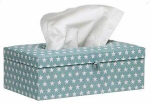Briljant Baby Tissue box Sam - Jade