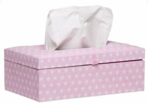 Briljant Baby Tissue box Sam - Roze