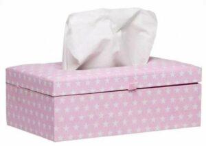 Briljant Baby Tissue box Sam - Roze